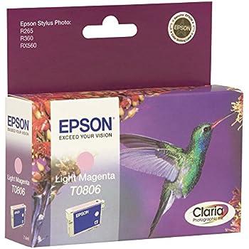 Epson Original T0806 Light Magenta Ink Cart