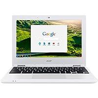 """Acer Chromebook 11 CB3-131-C8D2 2.16GHz N2840 11.6"""" 1366 x 768Pixeles Color blanco - Ordenador portátil (Chromebook, Color blanco, Concha, Education, N2840, Intel® Celeron®)"""