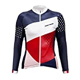UGLYFROG Bike Wear Radsport Bekleidung Damen Langarm Trikots & Shirts #01 Herbst Style with Fleece
