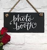 Lilybels photobooth Panneau Ardoise à Suspendre Plaque de Mariage Mariage