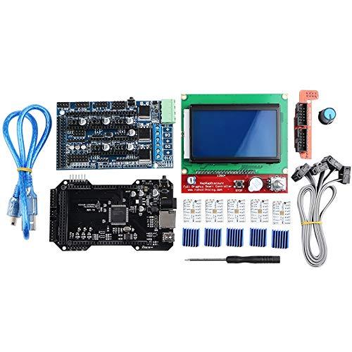 Semoic Clone Re-Arm 32 Bit Hauptplatine Ramps 1,5 und 12864 LCD Anzeige mit Tmc2208 Fahrer für 3D Drucker Teile