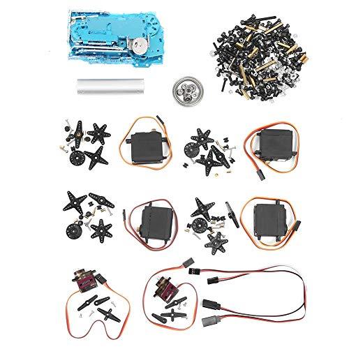 Roboterarm aus Aluminiumlegierung, 6 DOF-Roboterarm mit Klemmplatte, Industrieroboter-Modell SNAM1400 abb, robust und langlebig, hochwertige Lagerverbindung<br/>