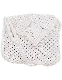 Saman Girls' Sling Bag (White, 20)