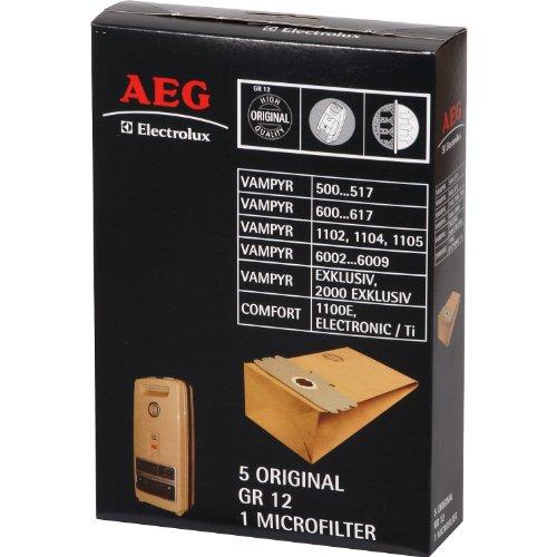 AEG 2681032092 Staubsaugerbeutel Original Gr. 12 passend für Vampyr Serie 500...517, 600...617, 6002...6009
