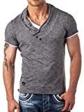 Redbridge by Cipo & Baxx Herren Shirt R-4T1223 anthrazit L