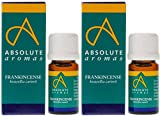 (2 Pack) - Absolute Aromas - Frankincense Oil | 5ml | 2 PACK BUNDLE