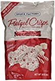Snack Factory Pretzel Crisps White Chocolate & Peppermint Flavor (LARGE 20 Oz Bag)