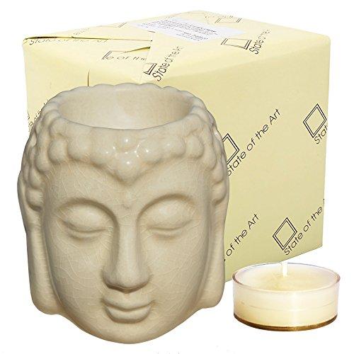State of the Art Buddha Statue Diffuser, Cream Colour, Gift...