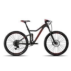 Ghost dreamr X 7al 27.5Miss Titanium/Riot Red–Cornice Taglia M–Mountain bike