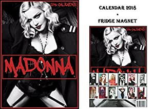 madonna kalender 2018 madonna k hlschrankmagnet amazon. Black Bedroom Furniture Sets. Home Design Ideas