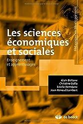Sciences économiques et sociales enseignement et apprentissage