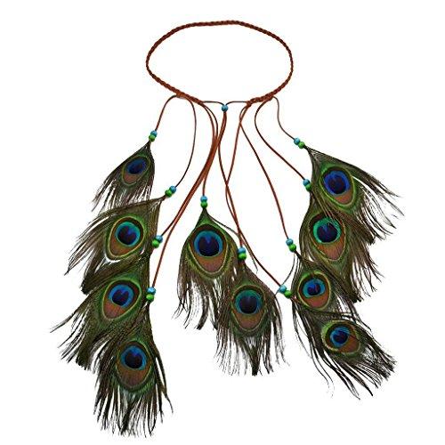 TOOGOO Ethnische Indische boehmische Boho Stil Haarband Stirnband Zubehoer fuer Damen