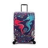 size M misura misura per 22-25 pollici valigia,  L Dimensione: 26-28 pollici valigia,  XL Dimensione: Valigia da 29-32 polliciDescrizione: vendita solo copribagagli. Deposito non incluso. Colori per la selezione: Come l'immagine Materiale: Po...