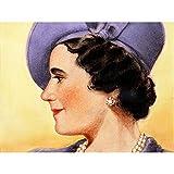 Timym Portrait Queen Elizabeth (Bowes-Lyon) England