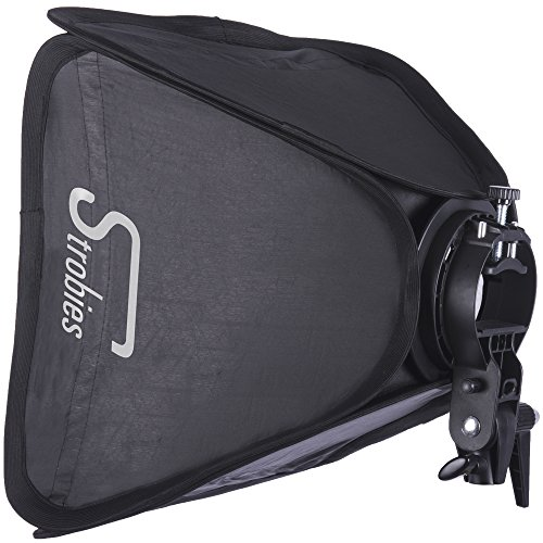 Interfit Strobies Bowens S-Halterung Speedlight Halterung & Softbox Kit Interfit-flash