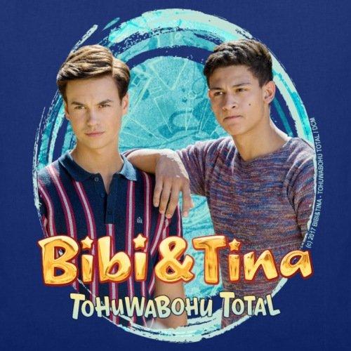 Spreadshirt Bibi Und TinaTohuwabohu Total Alex Und Tarik Stoffbeutel Royalblau