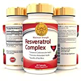 Trans Resveratrol Max Strength 500mg High Potency Antioxidant Supplement