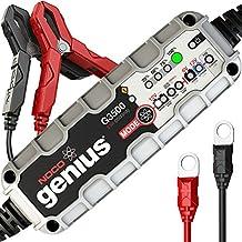 Noco G3500EU Genius Cargador Inteligente de Batería, 6V/12V, 3.5 Amp, Versión 2