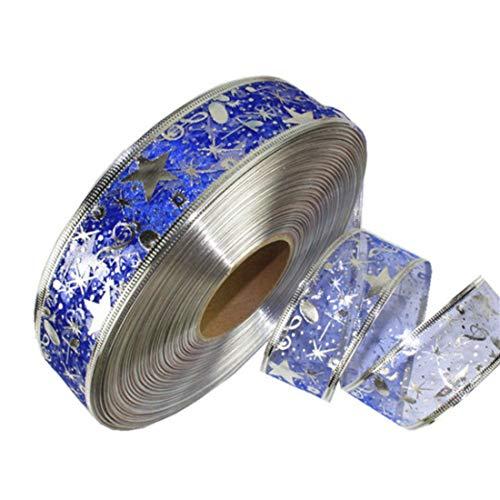 Pendant & Drop Ornaments - Diy Card Gift Wrapping Lace Crafts Handmade Satin Edge Organza Star Ribbon Bow Hair Wedding - 18 Hair Ribbon Bow Hair Tull Ribbon Organza Noel Ribbon Rainbow Dc App -