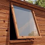 Plaque en polycarbonate transparente, 5 mm, pour fenêtres. Différentes tailles disponibles - 457mmx457mm