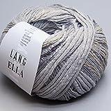 Lang Yarns Ella 023 Grau/Flieder