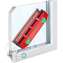The Glider Lavavetri Pulitore Magnetico Per Finestre Con Vetro Doppio Oltre I 20Mm D-3 Lava Pulisci Vetro Vetri A Doppio Magnete Vetrina Tergivetro