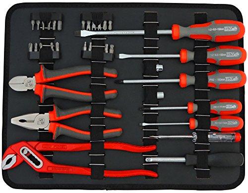 FAMEX 758-65 Werkzeugkoffer 115-/insgesamt 130-tlg - 4