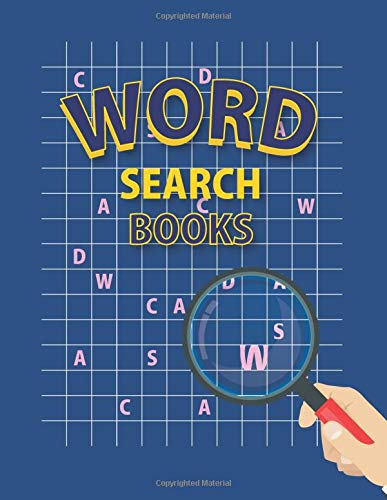 Word Search Books: 100 Word Search Puzzle Games, 8.5