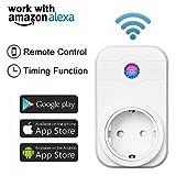 Smart Wifi Steckdose Timer Steuerung f IOS Android EU plug funktioniert mit Amazon Alexa eFamily App