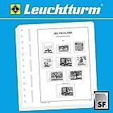 Leuchtturm Nachtrag Bundesrepublik Deutschland 2016 mit SF-Schutztasche | Vordruckblätter für Das Sammelgebiet Deutschland
