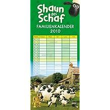 Shaun das Schaf - Familienkalender 2010
