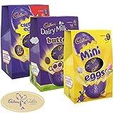 Cadbury Three Medium Easter Eggs