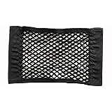 KNOSSOS Car Truck Adhesive Net Bag Rear Seat Storage Bag - Black