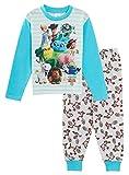 Disney Toy Story 4 - Pigiama per Bambini, Lunghezza Intera, Motivo: Buzz Woody Forky Pjs Bianco 4-5 Anni