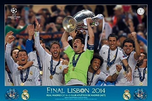Grupo Erik Editores Real Madrid – La Decima Grupo – Poster, 61 x 91.5 cm