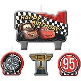 Coches velas de cumpleaños, 4Count, fuentes del partido