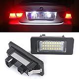 2Pcs LED Eclairage Lumiere de Plaque d'Immatriculation Pour BMW E90 E92 E93 F30 F35 F80 F31 F34 Series