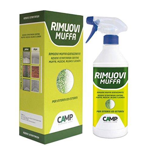 Rimuovi muffa igienizzante camp spray 750 ml. per interni ed esterni