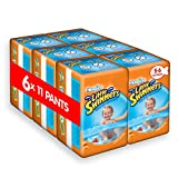 Huggies Little Swimmers Disposable Swim pannolini, confezione da 6, taglia 5-6