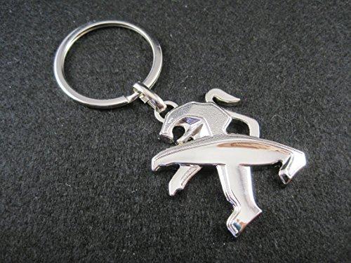 Llavero de metal Peugeot