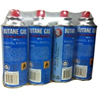 Lot de 4 Cartouches recharge gaz 227g MSF-1a