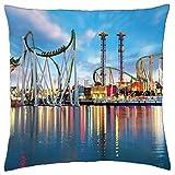 Theme park in Orlando Florida - Throw Pillow Cover Case (18