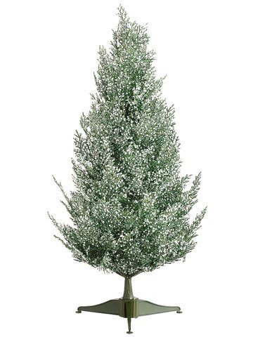 2-snowy-sprinkles-forest-green-pine-artificial-christmas-tree-unlit-by-allstate