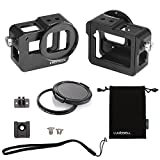 Luxebell Gopro Hero 5 Case Aluminium Metal Skeleton Thick Solid Protective Case With 52mm Uv Filter for Gopro Hero 5 Camera