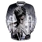 CTOOO 2018 Uniforme De Baseball Sweat-Shirts Justin Bieber Homme Mode XXS-3XL