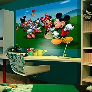 Poster XXL La Maison de Mickey Disney 160X115 CM