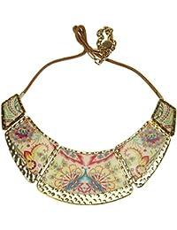 aaa1e3b0c70e Desigual Mujer Collar Joyas Cadena Collar Bisutería Collar piezas Valkiria  71 ...