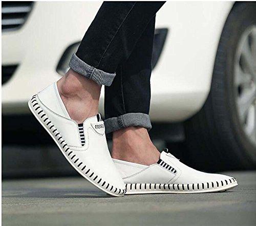 38 Farbe Schlüpfen Sneaker Männer Pure 44 Pedal Hohl Fahrschuhe Atmungsaktiv Größe Pumpe Faulen Eu Beiläufig White Loafer Schuhe ZxBwnv88dq