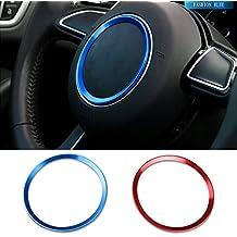 cogeek volante Logo decorativo círculo de coche para A3 A4L A6L A8L Q3 Q5 ...