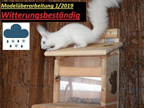 Arbrikadrex Eichhörnchenfutterhaus Eichhörnchen Haus Kobel Futterstation